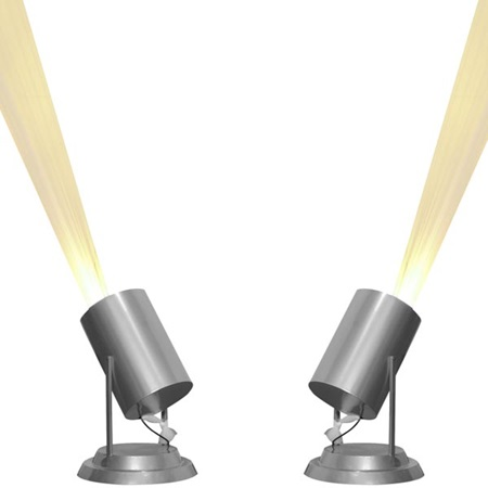 """Lite"" Rock Spotlights Kit (set of 2)"