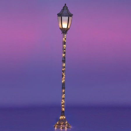 Single Lamp Wire Lamppost Kit