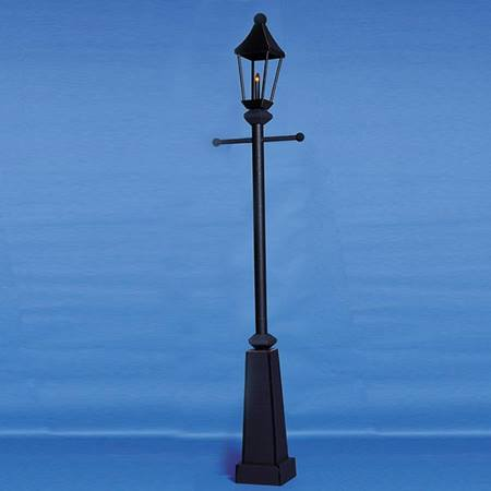 Black Dance the Night Away Lamppost