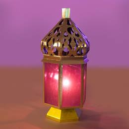 Persian Glow Purple Lantern Kit