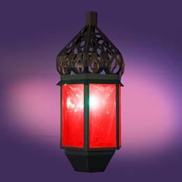 Rabat Red Glowing Lantern Kit