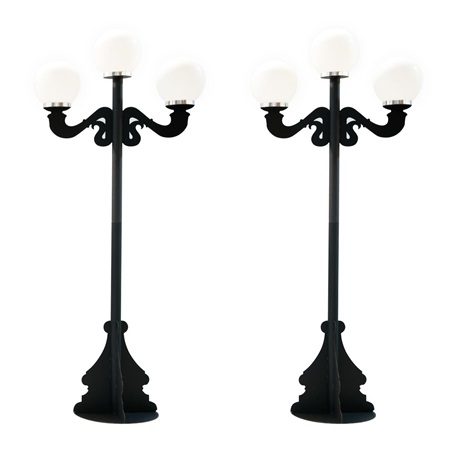 Main Line Lampposts Kit (set of 2)