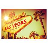 Photo Mural - Las Vegas Sign