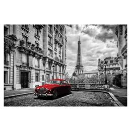 Photo Mural - Red Car in Paris