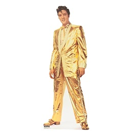 Elvis Presley Gold Suit Standup