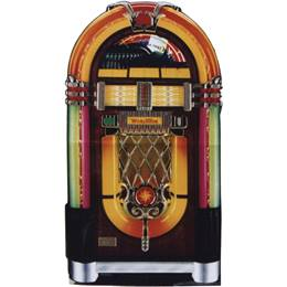 Wurlitzer Jukebox Standup