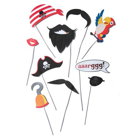 Photo Prop Kit - Pirate