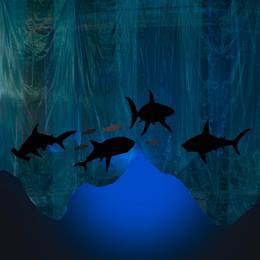 Unexpected Guests Shark and Fish Panels Kit