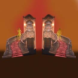 Carnevale Spectacle Staircases Kit (set of 2)