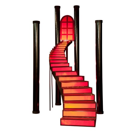 Cinnamon Twist Staircase and Columns Kit