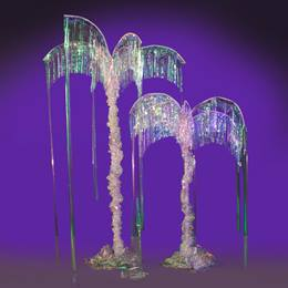 Opalescent Ballroom Palm Trees (set of 2) Kit