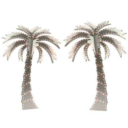 Star-studded Palm Trees Kit - Set of 2
