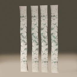Tall Winter Sparkle Birch Trees Kit (set of 4)