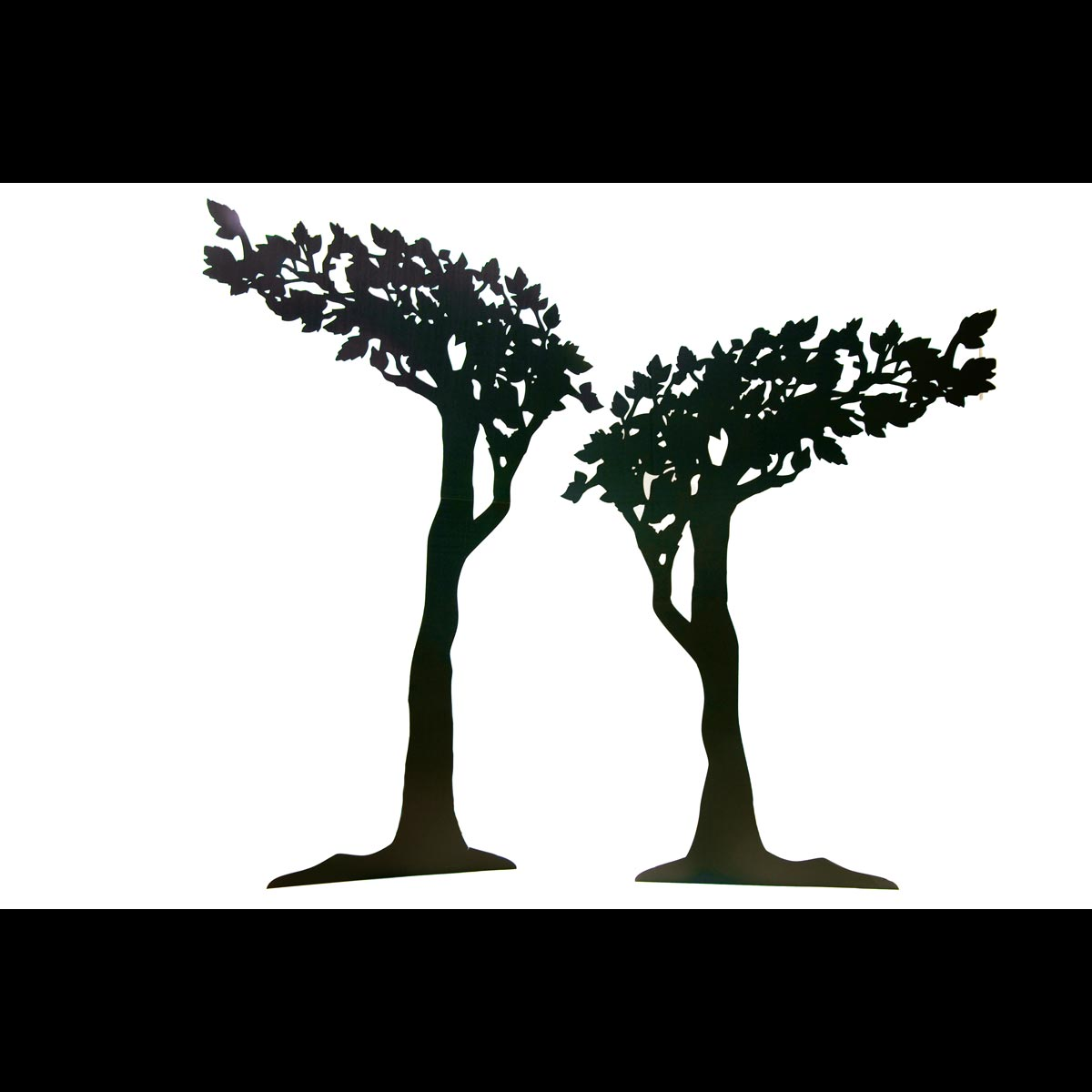 Just You and Me Tree Silhouettes Kit (set of 2)