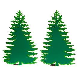 Bayou Brilliance Trees Kit (set of 2)