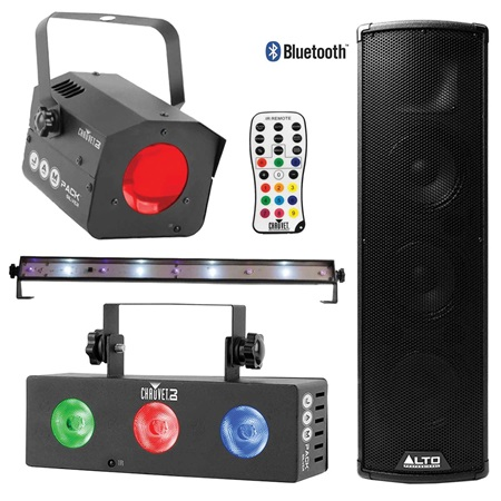 Lighting and Music Party Pack With Large Speaker