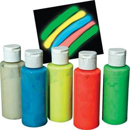 Get Glowing Paint Set
