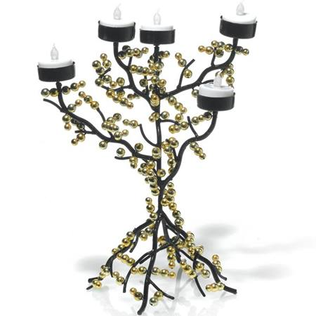 Gold Branches Centerpiece