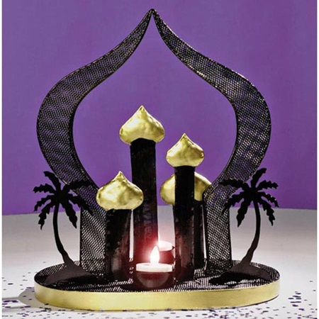 arabian city centerpiece set of 2 prom nite