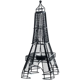 12 inch Eiffel Tower Wire Centerpiece - Set of 2