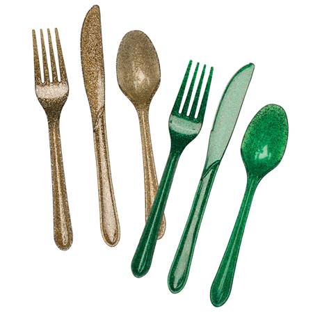 Glitter and Glitz Cutlery Set