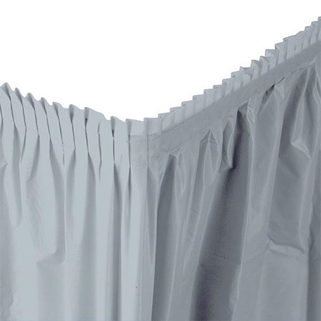 Vinyl Table Skirt - 29 in. x 14 ft.