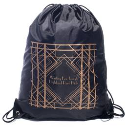Art Deco Lines Full-color Backpack