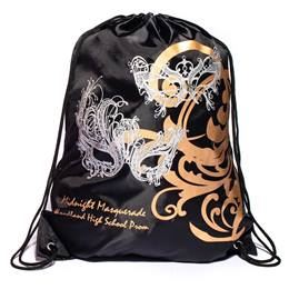 Masks & Swirls Full-color Backpack