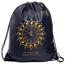 Gold Clock Full-color Backpack