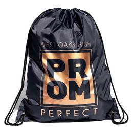 Gold Prom Square Full-color Backpack