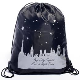 Purple Cityscape Full-color Backpack