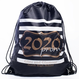 Gold 2020 Prom Crest Full-color Backpack