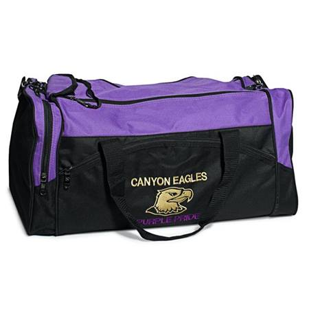 Sport Duffel Bag - Embroidered