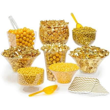 Gold Candy Buffet Kit