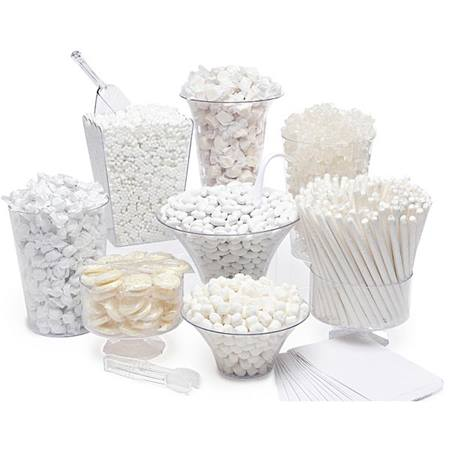 White Candy Buffet Kit