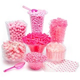 Pink Candy Buffet Kit