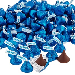 Hershey's Kisses® Chocolates - Dark Blue