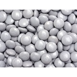 Silver M&M's Milk Chocolate Candy - 5 lbs.