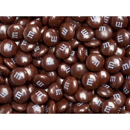 Brown M&M's Milk Chocolate Candy - 5 lbs.