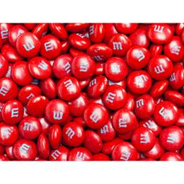 Red M&M's Milk Chocolate Candy - 5 lbs.