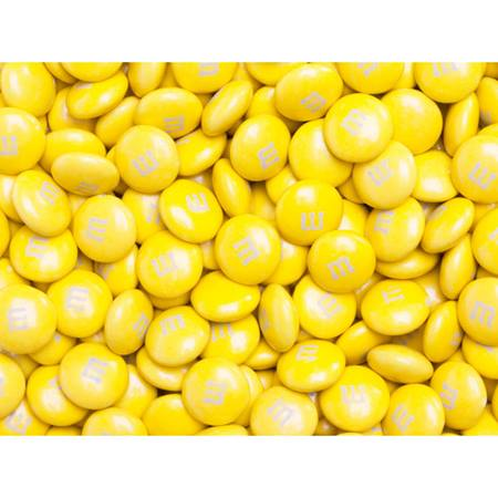 Yellow M&M's Milk Chocolate Candy - 5 lbs.