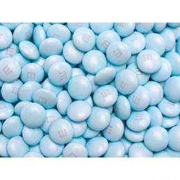 Light Blue M&M's Milk Chocolate Candy - 2 lbs.