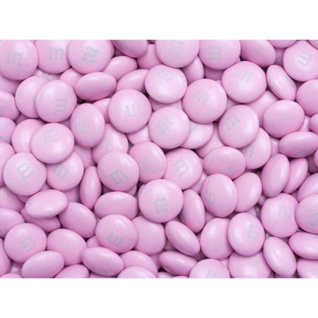 Pink M&M's Milk Chocolate Candy - 2 lbs.