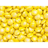 Yellow M&M's Milk Chocolate Candy - 2 lbs.