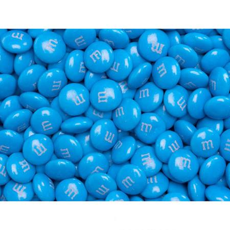 Blue M&M's Milk Chocolate Candy - 2 lbs.