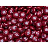 Maroon M&M's Milk Chocolate Candy - 2 lbs.