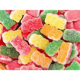 Triple-layer Sour Gummy Bears