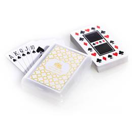 Playing Cards with Custom Metallic Foil Label - Arabesco