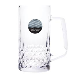 Zander Tall Mug with Circle Sticker