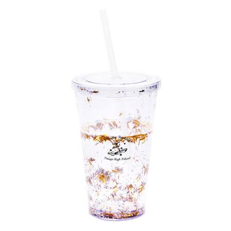 Liquid Tinsel Tumbler